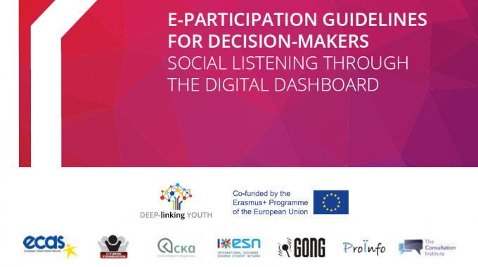 E-Participation Guidelines for Decision-Makers: Social Listening Through the Digital Dashboard